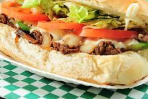 Cheese Burger Sub - delivery menu