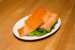 1/4 lb. Baked Kippered Salmon - delivery menu