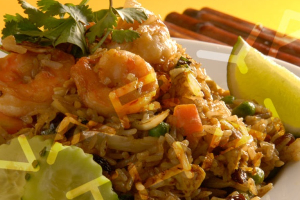 Pineapple Shrimp Fried Rice - delivery menu