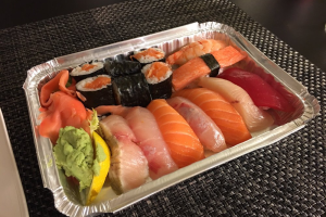 Sushi - delivery menu