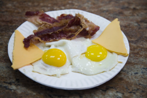 Bacon, Eggs and Cheese - delivery menu