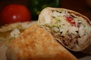 Chicken Shawarma Pita Wrap - delivery menu