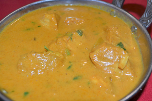 SALMON CURRY - delivery menu