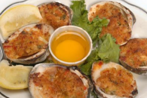 Bakes Stuffed Clams - delivery menu