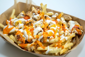 Buffalo Chicken Loaded Fries - delivery menu