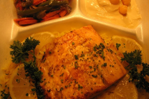 Salmon Entree - delivery menu