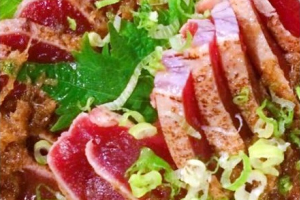 Tuna Tataki - delivery menu