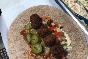 Falafel Pita Sandwich - delivery menu