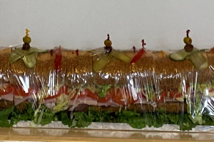 #3. The All American 4 Foot or 6 Foot Hero Tray - delivery menu