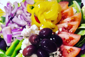 Sm. Greek Salad - delivery menu