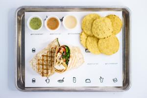 K1. Pick & Eat Wrap - delivery menu