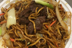 706. Beef Lo Mein  ( Large ) - delivery menu
