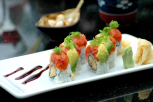 Red Dragon Roll - delivery menu