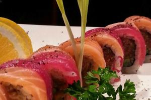 Tuna Sunset Roll - delivery menu