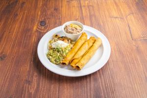 7. Taquito Plate Combo - delivery menu