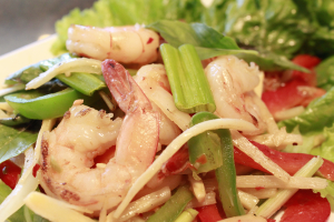 73. Spicy Basil Shrimp - delivery menu