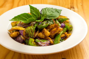 Pad Eggplant - delivery menu