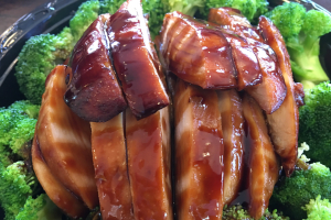D1. Teriyaki Chicken Dinner - delivery menu