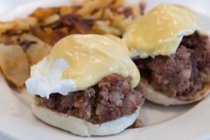 Irish Eggs benedict - delivery menu