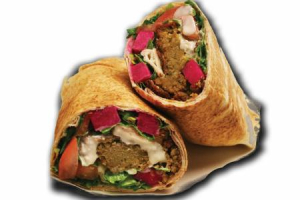 Falafel Wrap (Veggie Burger) - delivery menu