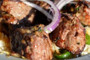 13. Lamb Kabob - delivery menu