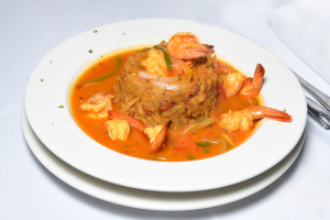 Mofongo de Mariscos - delivery menu