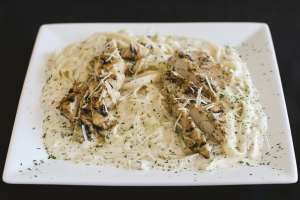 Fettucine Alfredo with Chicken - delivery menu
