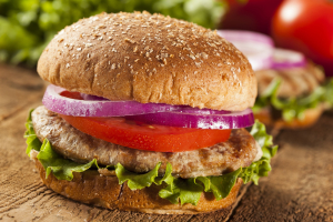 3. Turkey Burger Combo - delivery menu