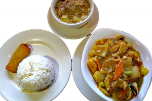 L16. Curry Chicken Lunch Special - delivery menu