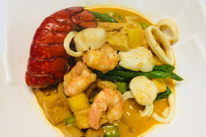 Seafood with Panang Curry Sauce - delivery menu