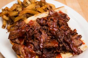 Hot Brisket of Beef Sandwich - delivery menu