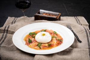 16 Month Prosciutto & Distefano Burrata - delivery menu