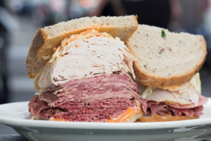 1. Corned Beef, Tongue and Swiss Sandwich - delivery menu