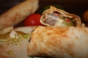 Shish Kabab Pita Wrap - delivery menu