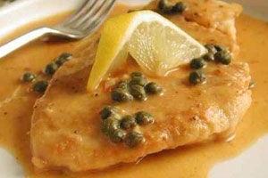 Chicken Piccata - delivery menu