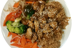 Teriyaki Chicken Lunch - delivery menu