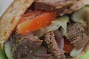 Leg of Lamb Sandwich - delivery menu