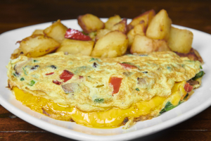 3 Egg Omelet - delivery menu