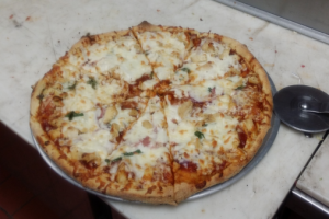 Spicy BBQ Chicken Pizza - delivery menu
