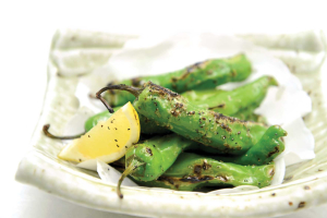 Charred Shishito Peppers - delivery menu