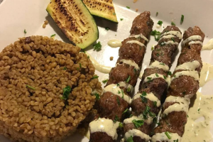 Lamb Kafta Kabob - delivery menu