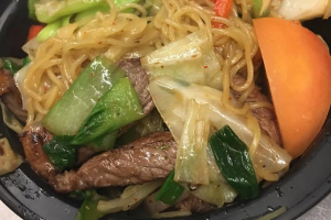 Yaki Noodles with Beef - delivery menu