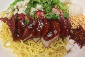 Bamee Puu & Moo Dang - delivery menu