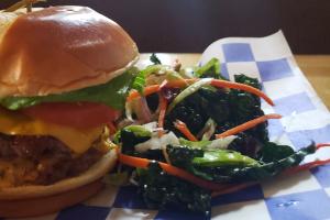 Bang Up Burger with Cheese - delivery menu