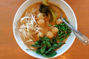 Kha Nom Jeen Nam Ya Secret Menu Noodle Dish - delivery menu