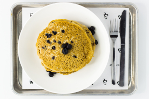 Fresh Blueberry Pancakes - delivery menu