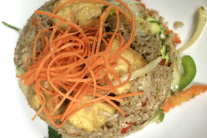 Spicy Basil Fried Rice Dinner ** - delivery menu