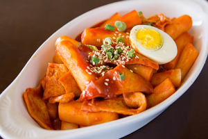 Spicy Rice Cake Dukbokki 떡볶이 - delivery menu