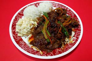 58. Spicy Beef - delivery menu