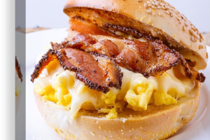 BACON, EGG AND CHEESE - delivery menu